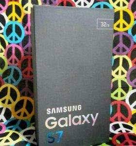 Коробка от Samsung S7