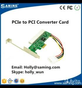 PCI-Express PCI-E To PCI Bus Riser Card High Effic