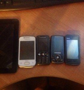 Планшет и смартфоны