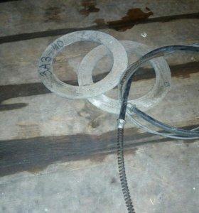 Трос ручника и диски сцепления на ЛУАЗИКА