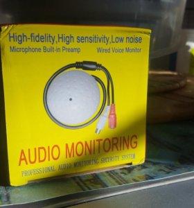 Микрофон для системы видеонаблюдения