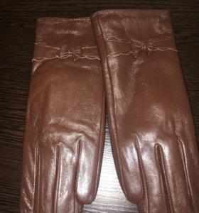 Перчатки из кожи! НОВЫЕ