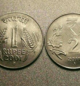Монеты Индия