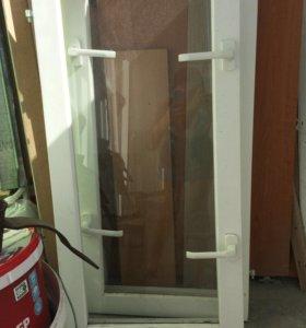 Стеклопакеты балконный блок