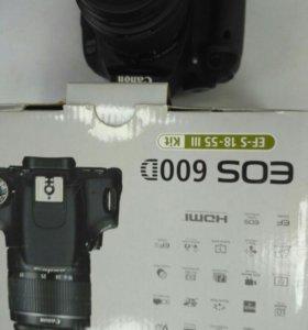 Canon eos 600d ef-s 18_5lll kit канон