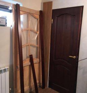 Дверь дерево , 96/203 с коробкой