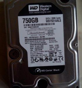 HHD 750 gb