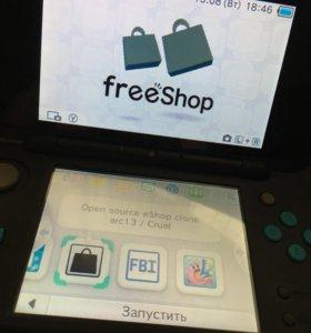 Продам приставку Nintendo New 2ds xl
