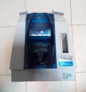 Принтер для печати на пластике DATACARD SP25 +