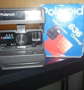 кассетный фотоаппарат полароид