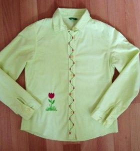 Рубашка Benetton для девочки