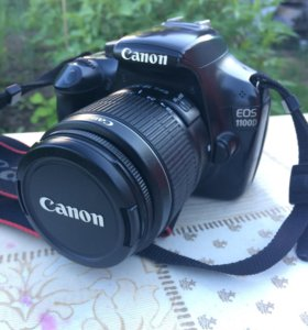 Фотоаппарат Canon EOS 1100D EF-S 18-55 III kit