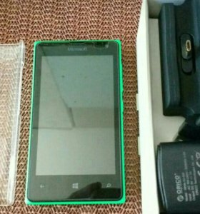 Microsoft Lumia 435 Dual Sim + новые аксессуары