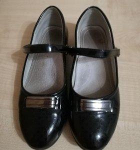 Школьные туфли Томм б/у 21см стелька