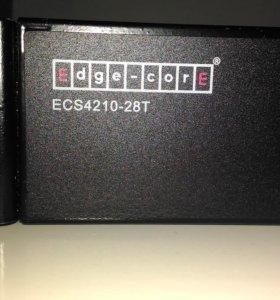 Коммутатор L2 ECS4210-28T Edge-Core