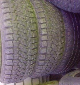 Два колеса на внедорожник