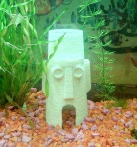 Дом Сквидварда в аквариум