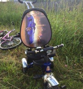 Велосипед трёх колесный