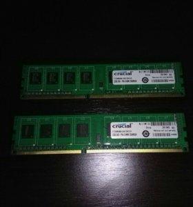 Оперативная память ddr3 1333 - 4 гб