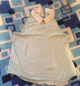 Блуза Promod с воротником без рукавов