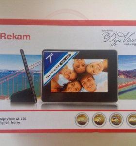 """Цифровая рамка 7"""" Rekam SL770"""