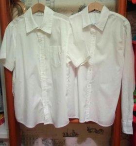 2 белые рубашки