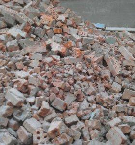 Бой бетона,кирпича