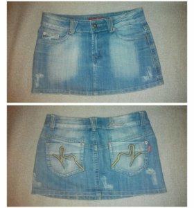 Юбка джинсовая р42-44