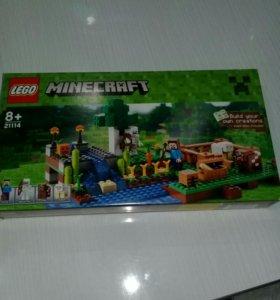Лего оригинал minecraft ферма 21114