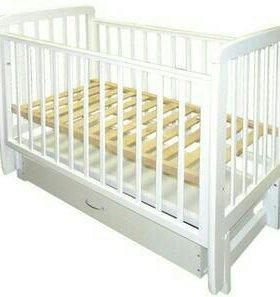 """Детская кроватка с продольным маятником """"Соня 5"""""""