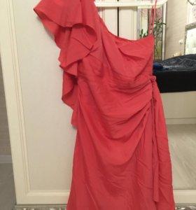 Платье коралловое Oasis 44-46