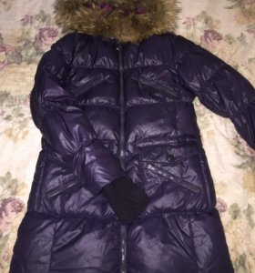 Натуральный тёплый зимний пуховик / куртка