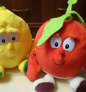 Классные Мягкие овощи и фрукты