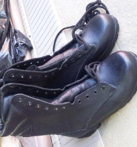 Ботинки с высокими берцами