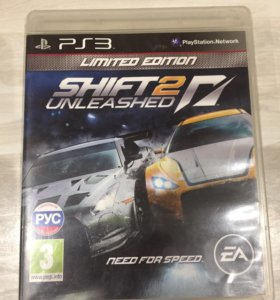 NFS Shift 2 Unleashed / PS3