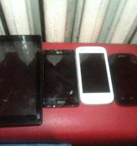 Разные смартфоны