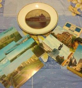 Цветные открытки Горький-1970, Могилев-1983