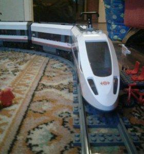 Лего сити поезд