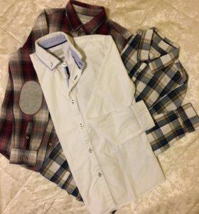 Рубашки Zara 11/12 лет