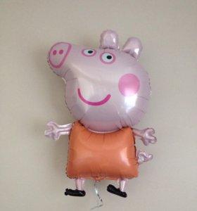 Воздушный шар шарик Свинка Пеппа