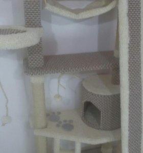 Когтеточка, домик для кошек