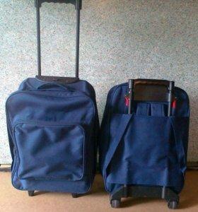 Сумка-рюкзак на колесах