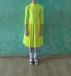 Платье для  бальных танцев Дети