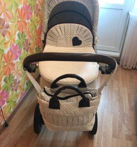 Детская коляска DPG Romance 3в1