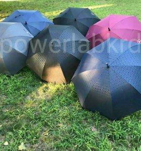 Зонт с карбоновой ручкой Mercedes