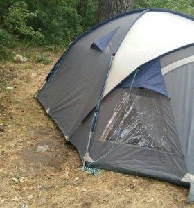 Палатка 4местная .1сезон была в эксплоотацие.