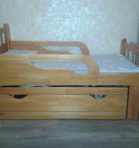 """Кровать детская """"Я Расту"""""""