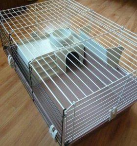 Клетка для шиншиллы, кролика, свинки