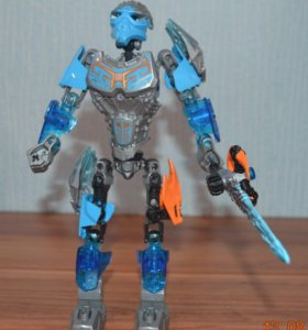 Бионикл Лего голубой (стихия Вода)