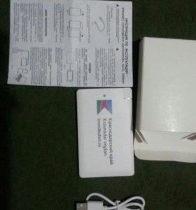 Портативная зарядка для телефонов и планшетов